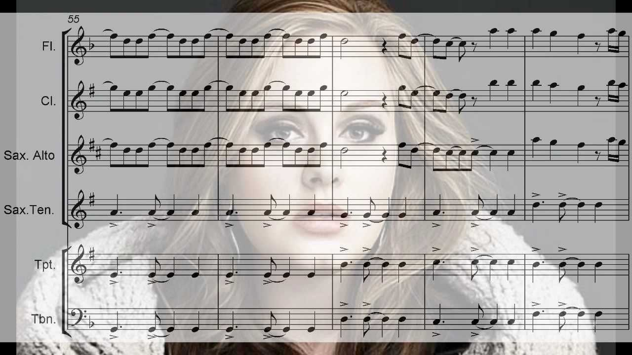 Adele set fire to the rain arrangement for flute sax trumpet adele set fire to the rain arrangement for flute sax trumpet trombone and clarinet youtube hexwebz Choice Image