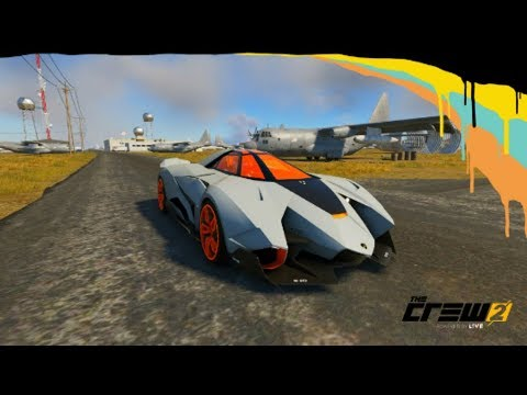 The Crew 2 Lamborghini Egoista Youtube
