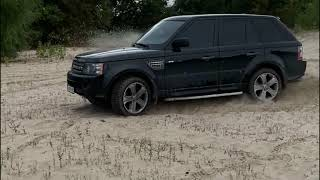 Первый тест Range Rover Sport OFF ROAD и ДРИФТ