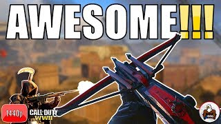 Best Crossbow DLC Weapon Class Setup for Fun & for Streaks - CoD WW2