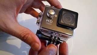 Action Camera GoPro Clone Test en Francais