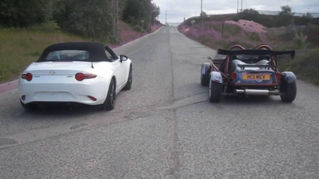 2016 Mx5 Versus Kit Car Youtube