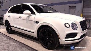 2018 Bentley Bentayga Black Edition - Exterior and Interior Walkaround - 2018 Chicago Auto Show