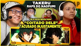MINHA MÃE REAGINDO AO Rap do Naofumi e EU CONTRA O MUNDO - (Tate no Yuusha) | Takeru Feat.@Enygma