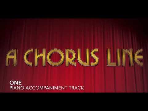 One - A Chorus Line - Piano Accompaniment/Rehearsal Track