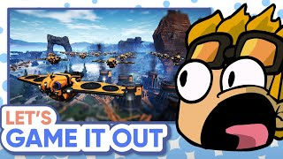 ImKibitz Reacts to Let's Gąme It Out Playing Satisfactory