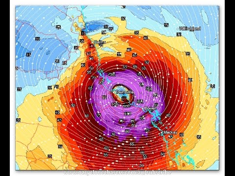 OZ CYCLONE CHASERS - TROPICAL CYCLONE DEBBIE