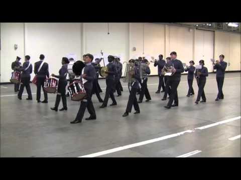 Air Cadet National Marching Band Championships 22.11.15 - Full Band- LASER Region