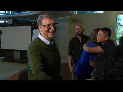 Bill and Melinda Gates on their scholarship program