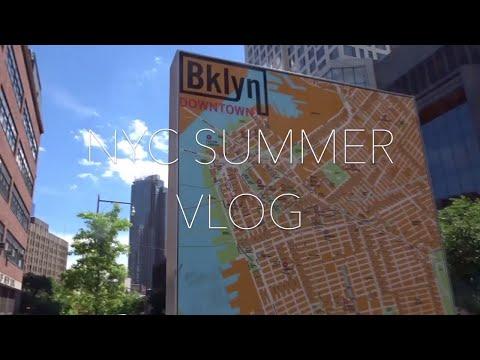 TRAVEL VLOG: NYC SUMMER 2017 ep 3 (EXPLORING BROOKLYN)