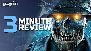 Zombie Army 4: Dead War | Review in 3 Minutes (Video Game Video Review)