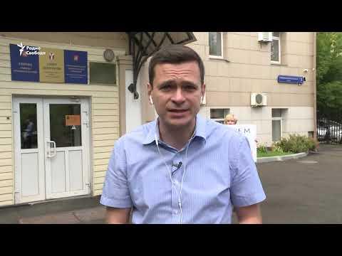 """Илья Яшин: """"Похоже, они решили снять меня с выборов"""""""