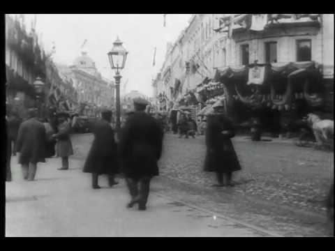 Паровозы конца 19 века.