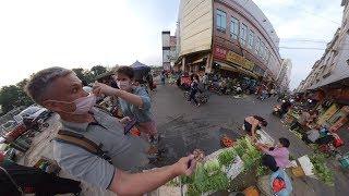 Реальный Китай 360 градусов (очень круто). Прогулка по окраинам Гуанчжоу - Жизнь в Китае #191