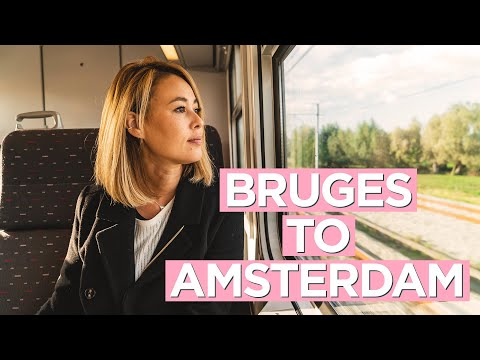 Taking the Train from Bruges to Amsterdam and Complaints About the Thalys Train