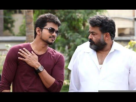 Lalettan and Vijay Mass Intro scene in...
