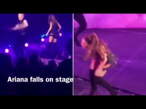 Ariana Grande Honeymoon Tour fails - ArianaGrandeFan