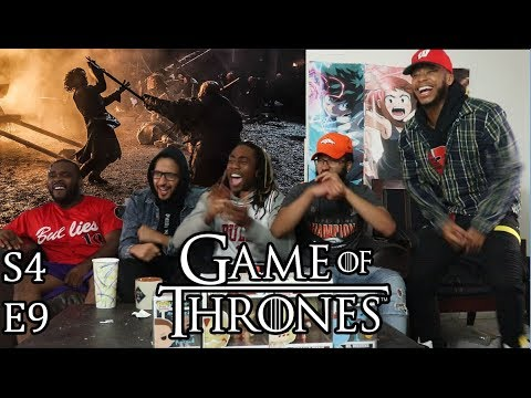 """Game of Thrones Season 4 Episode 9 """"The Watchers on the Wall"""" Reaction/Review"""