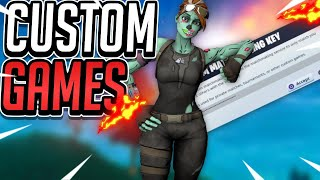 Fortnite LIVE Solo/Duo Custom Games + 2x Black Knghit account giveaways | Fortnite Live Deutsc