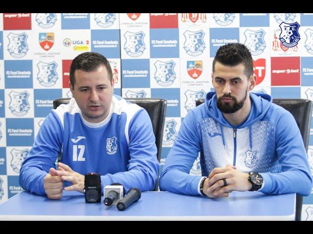 Conferință de presă înaintea partidei FC Petrolul - FC Farul
