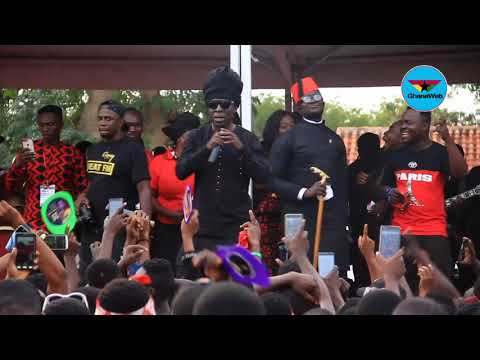 Kojo Antwi's full performance at Ebony's burial service
