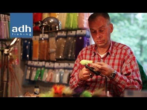 """adh-fishing TV - Bindevideo eines """"Game Changer"""" Barsch Streamers mit Andy Weiß / Messe 2013"""