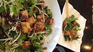 Tofu Mint Salad (goi Tofu Rau Thom) - Cathy Ha Vietnamese Home Cooking
