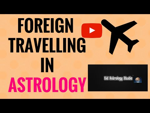 Foreign Travelling & Foreign Settlement - YouTube