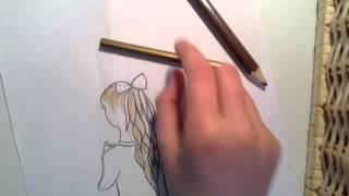 Hvordan man tegner hår
