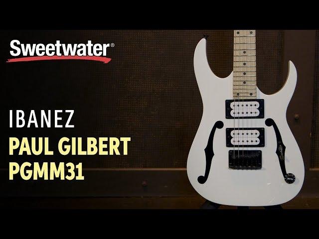 Ibanez Paul Gilbert PGMM31 Micro Guitar Demo