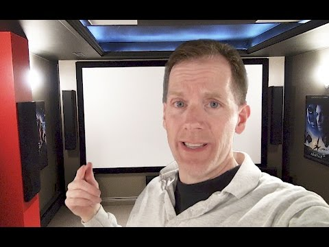 🎥 Home Theater Equipment Demo 🎞 - Burke Cinema Part 1