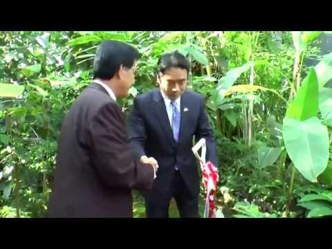 President of Micronesia visits Kochi