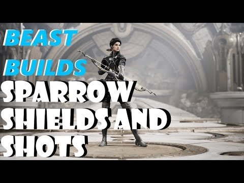 Paragon v42 Beast Builds - Sparrow and a General Deck for ADCs (Nonstop Shields And Shots Deck)