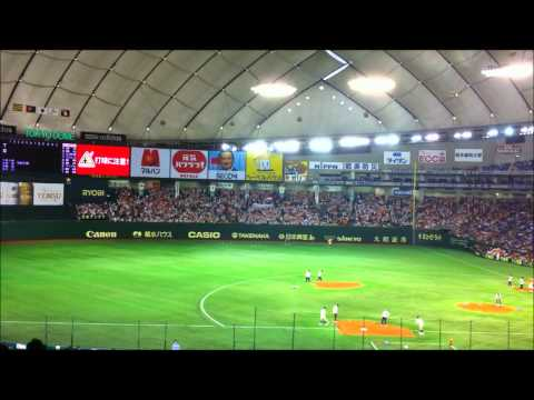 Yomiuri Giants versus Hanshin Tigers 5 3 2011