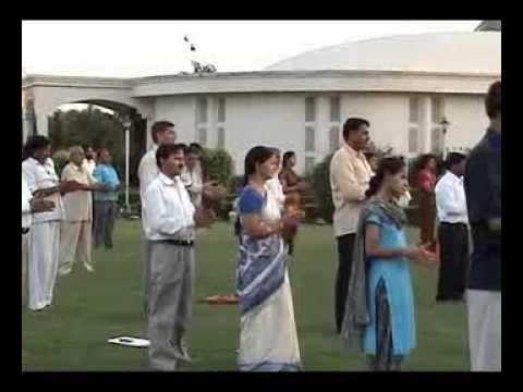 A Walking Tour - Brahma Kumaris Om Shanti Retreat Centre Manesar - HY INDIA