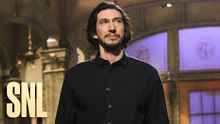 Adam Driver's Chill Monologue - SNL