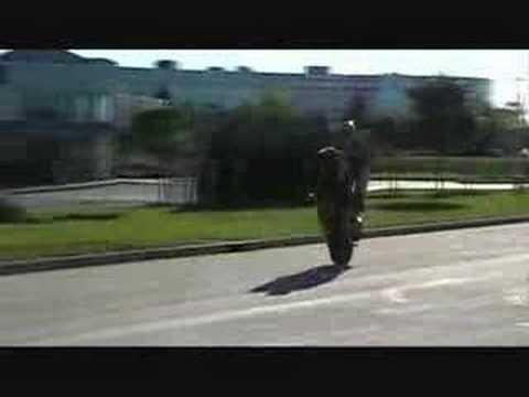 Nik Grubach Motorcycle Stunts