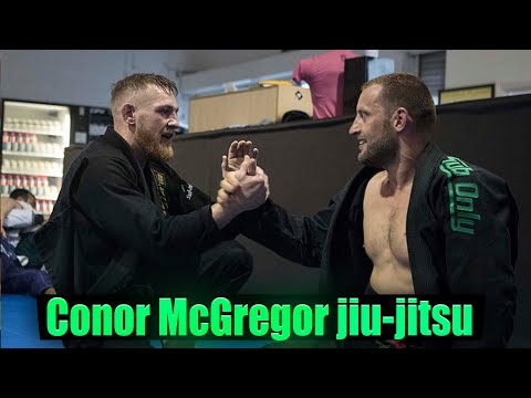 Conor McGregor Competing in Brazilian jiu-jitsu Tournament