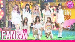 [안방1열 직캠4K/고음질] 위키미키 '티키타카' 풀캠 (Weki Meki Tiki-Taka(99%) Fancam)ㅣ@SBS Inkigayo_2019.8.18