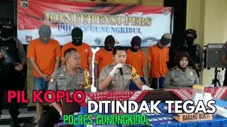 Download LIMA PENGEDAR PIL KOPLO DIRINGKUS POLISI Mp3