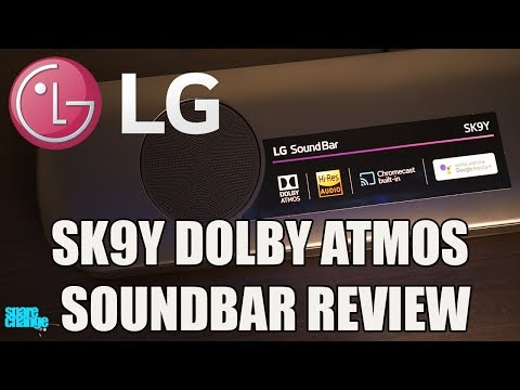 LG SK9Y Dolby Atmos Sound Bar Review
