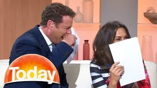 """Karl loses it over Lisa's beard """"in my genes"""" comment"""