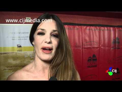 CIJ - Intervista Alessia Fabiani -  Los Angeles Italia Film Festival Febbraio 2011