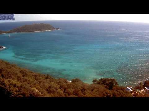 St. John Rendezvous Bay, January 2017 Time Lapse