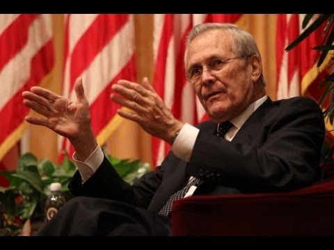 A Conversation with Donald Rumsfeld