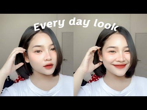 แต่งหน้า EVERY DAY LOOK สอนแต่งหน้ามือใหม่หัดแต่ง💗 แต่งตามได้ง่ายมากๆ |Smile mint