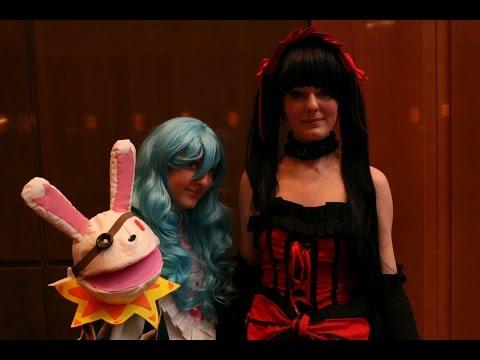 Yoshino und Kurumi tokisaki  Date a Live  DCM Vorentscheid Dokomi 2014