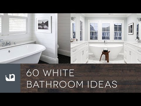 60 White Bathroom Ideas