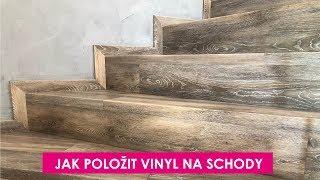 Jak položit vinyl na schody