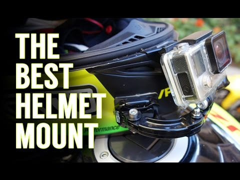 Mounting A Gopro to Your Motorcycle Helmet